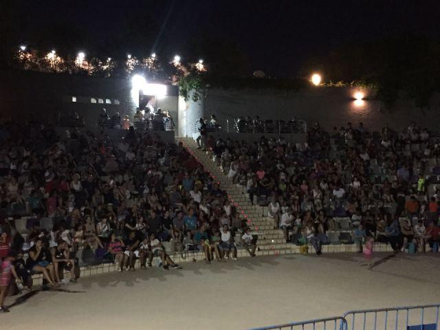 Molina De Segura El Cine De Verano En El Auditorio Del Parque De La Compañía Ha Contado En El Mes De Julio Con 4 450 Espectadores Murcia Com