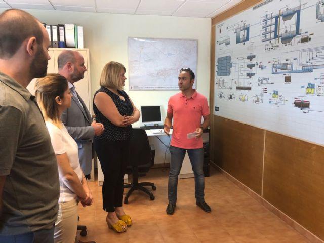 La estación depuradora de Mazarrón trata 15.000 metros cúbicos de agua al día - 1, Foto 1