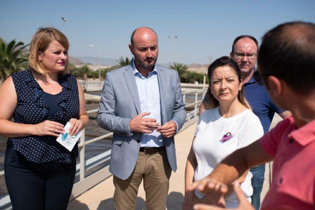 La depuradora de Mazarrón ampliará sus instalaciones para dar un servicio que responda al crecimiento de población - 1, Foto 1