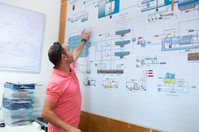 La depuradora de Mazarrón ampliará sus instalaciones para dar un servicio que responda al crecimiento de población, Foto 2