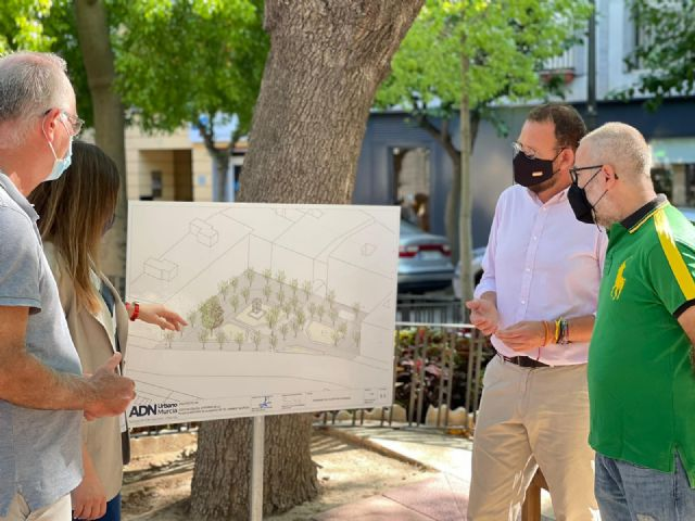 PP: El tripartito ralentiza la remodelación de la plaza Camachos que impulsó el equipo de Ballesta dentro del proyecto ADN - 1, Foto 1
