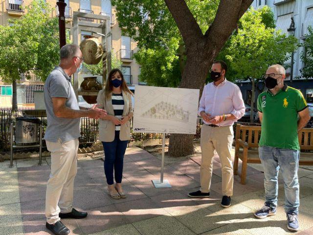 PP: El tripartito ralentiza la remodelación de la plaza Camachos que impulsó el equipo de Ballesta dentro del proyecto ADN - 2, Foto 2
