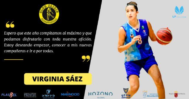 Virginia Sáez, refuerzo exterior del proyecto del Hozono Global Jairis para LF Challenge - 1, Foto 1