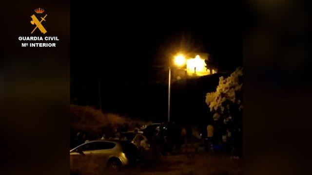 Sorprendidos cerca de 70 jóvenes en un paraje rural de Fortuna mientras realizaban un botellón incumpliendo las medidas de seguridad - 2, Foto 2
