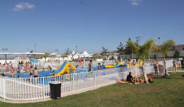 Las piscinas de verano de Puerto Lumbreras registran 15.800 entradas durante este verano - 2, Foto 2