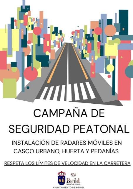 El Ayuntamiento inicia una campaña de control de velocidad para velar por la seguridad de los peatones - 1, Foto 1