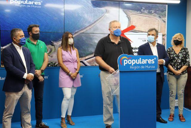 Bernabé: El Gobierno de Sánchez entierra el futuro de la Sierra Minera ante la negativa de retirar los residuos contaminados de la bahía de Portmán - 1, Foto 1