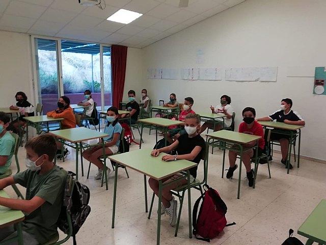 El Lycée français international de Murcia, primero en comenzar el curso escolar con un exhaustivo plan de acción - 2, Foto 2