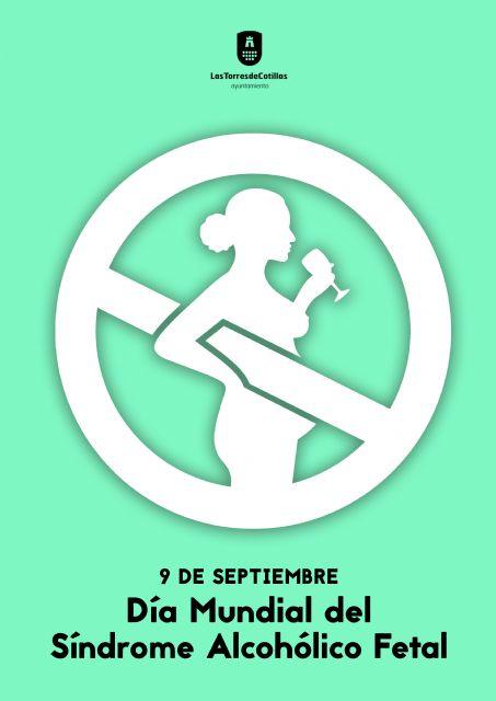 Las Torres de Cotillas se sumará a la conmemoración del Día Mundial del Síndrome Alcohólico Fetal - 1, Foto 1