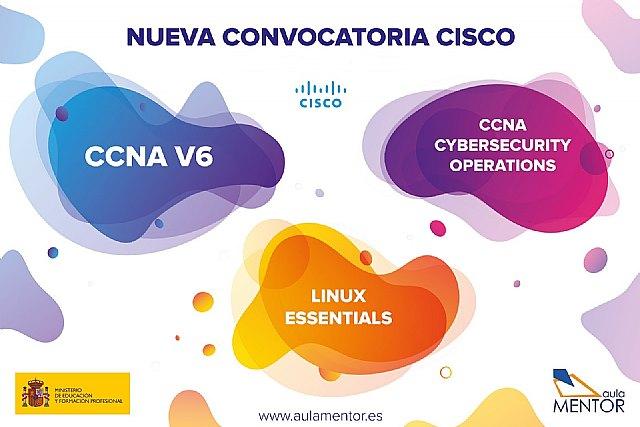 Abierto el plazo de matriculación para la oferta de formación Cisco del Aula Mentor - 1, Foto 1