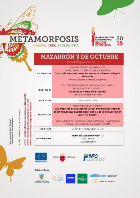 El instituto de fomento destaca a Mazarrón como municipio emprendedor, Foto 1