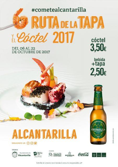 El viernes próximo se inaugura en Alcantarilla la sexta Ruta de la Tapa y el Cóctel, que se celebrará en nuestra ciudad del 6 al 22 de octubre, con 27 establecimientos participando en la misma - 1, Foto 1