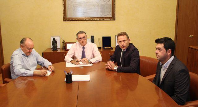 El Alcalde de Torre Pacheco se reúne con el nuevo Presidente de la Confederación Hidrográfica del Segura - 1, Foto 1