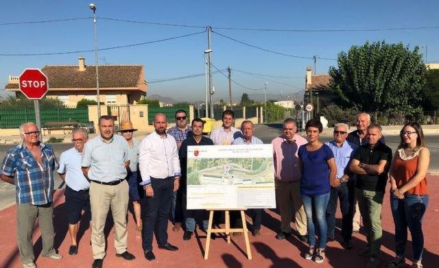 Fomento eliminará un punto negro de tráfico en el eje de comunicación entre Beniel y el límite de la provincia de Alicante - 1, Foto 1