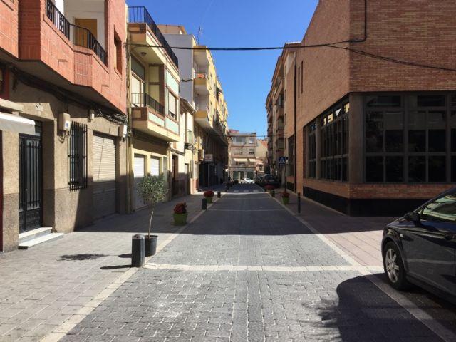 Restricciones de tráfico en la calle Postigos con motivo de las Fiestas de Alhama 2018, Foto 1