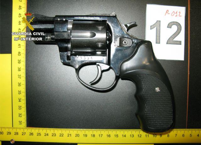 La Guardia Civil detiene a un experimentado delincuente por tenencia ilícita de armas - 1, Foto 1