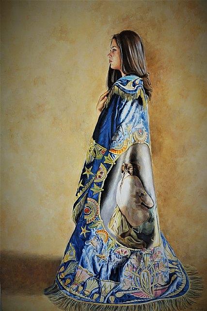 """Perla Fuertes presenta su exposición """"Palimpsestos"""" en el Museo Azul de la Semana Santa de Lorca, Foto 3"""