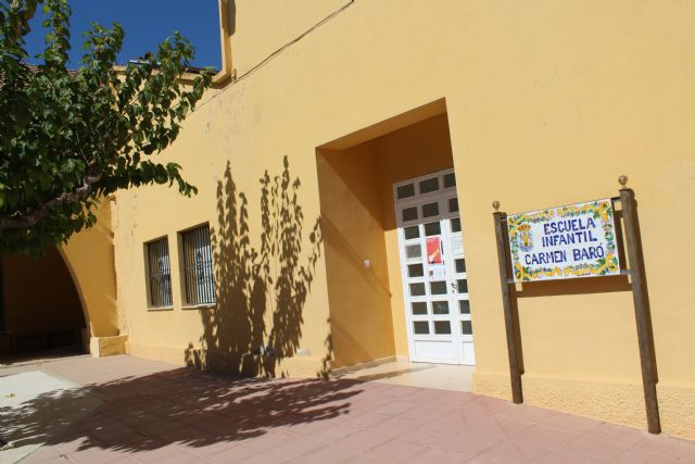 Prorrogan un año m�s el contrato de los centros educativos de las Escuelas Infantiles Carmen Bar�, Doña Pepita L�pez Gand�a y Centro Conciliaci�n Vida Laboral Nuestra Señora del Rosario, Foto 2