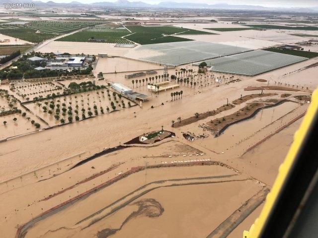 Los daños del temporal en infraestructuras públicas y privadas de la Región ascienden a casi 600 millones, Foto 1