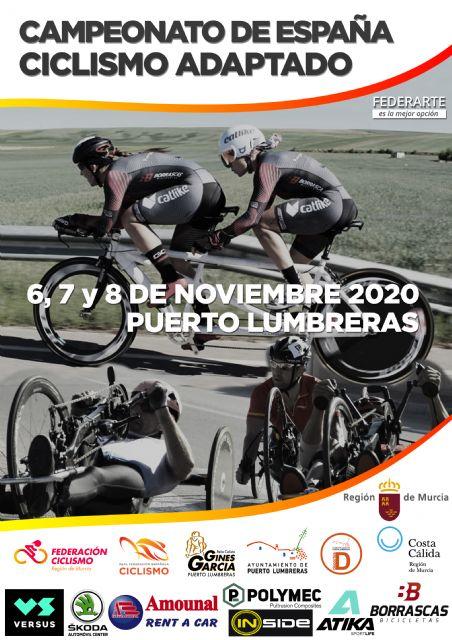 Puerto Lumbreras trabaja para acoger el Campeonato de España de Ciclismo Adaptado los días 6,7 y 8 de noviembre - 3, Foto 3