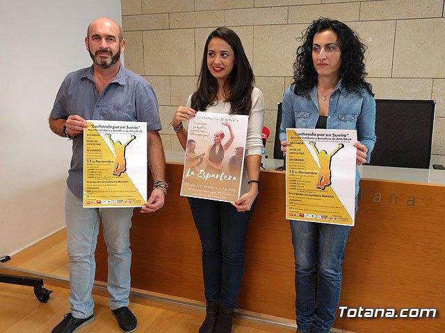 La Marcha Solidaria a beneficio de AFACMUR se celebrará el domingo 13 de noviembre, con una convivencia y actividades durante toda la jornada, Foto 1