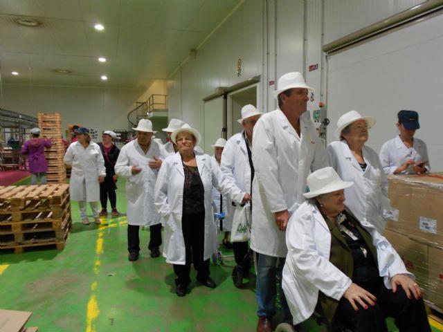 Los Centros de D�a para Personas Mayores Dependientes de Totana visitan MOYCA, Foto 2