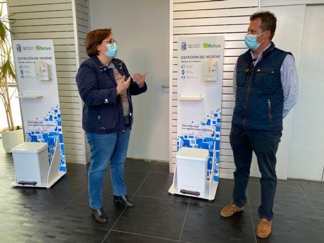 Actúa distribuye estaciones de desinfección en los principales edificios municipales de Torre Pacheco - 2, Foto 2
