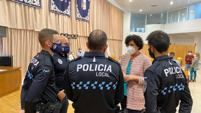 Tres nuevos agentes de la Policía Local toman posesión de su cargo - 2, Foto 2