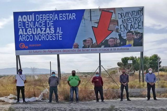 ASECOM y los empresarios de Alguazas siguen reclamando una solución para la salida al municipio del Arco del Noroeste - 1, Foto 1