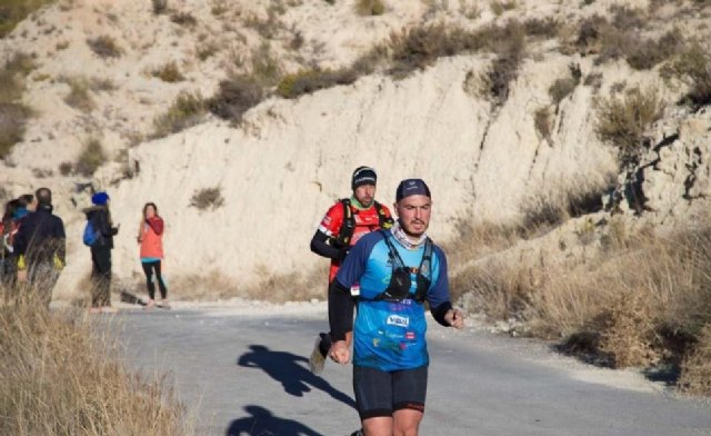 Javier Peñas, from the Totana Triathlon Club, participated in the Falco Trail 2017 - 1