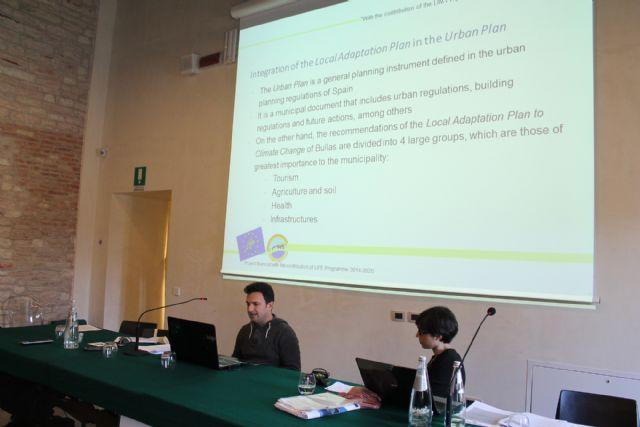 Presentación de la estrategia local sobre Cambio Climático de Bullas dentro del Proyecto Life Sec Adapt - 3, Foto 3