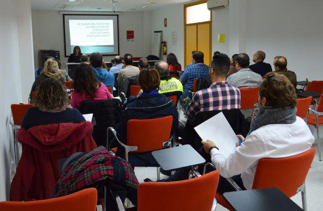 Las Torres de Cotillas acoge un curso para empleados públicos sobre contratación - 3, Foto 3
