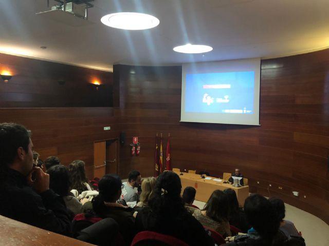 50 alumnos/as de la Facultad de Turismo de la Universidad de Murcia conocen el proyecto MiMurcia - 1, Foto 1