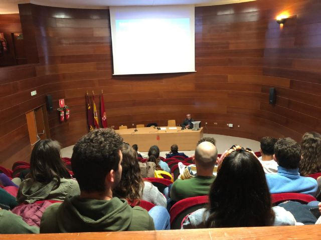 50 alumnos/as de la Facultad de Turismo de la Universidad de Murcia conocen el proyecto MiMurcia - 2, Foto 2