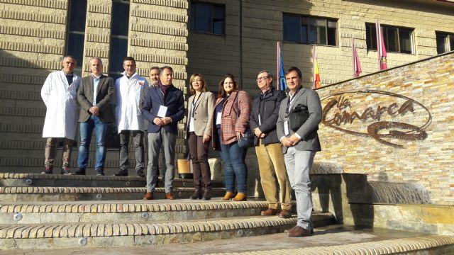 El Alcalde destaca el compromiso firme y decidido de La Comarca por la creación de empleo y el fomento de la actividad económica en Lorca - 1, Foto 1