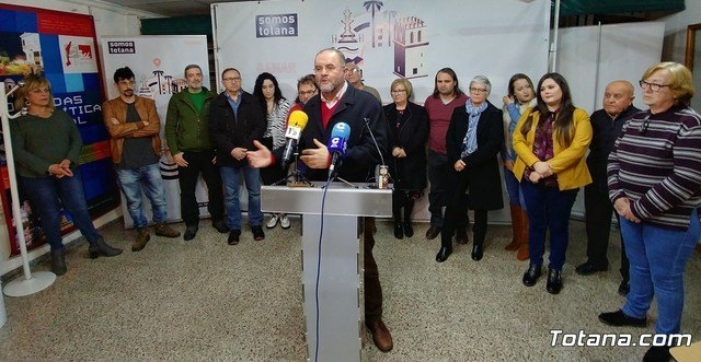 Juan José Cánovas is ratified as a mayoral candidate for the municipal elections of 2019 - 1