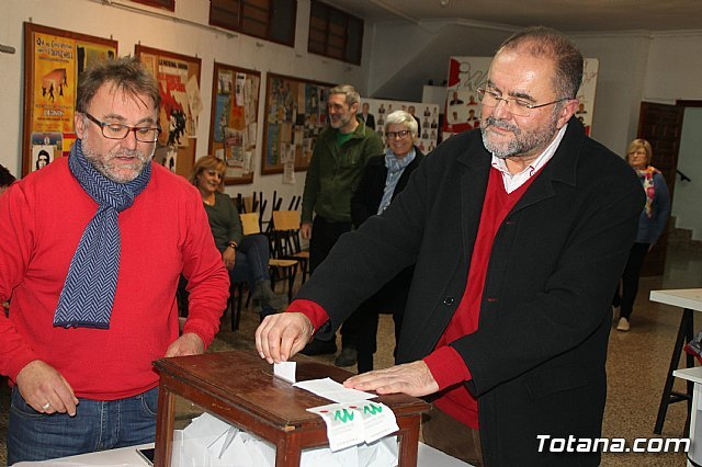 Juan José Cánovas is ratified as a mayoral candidate for the municipal elections of 2019 - 2