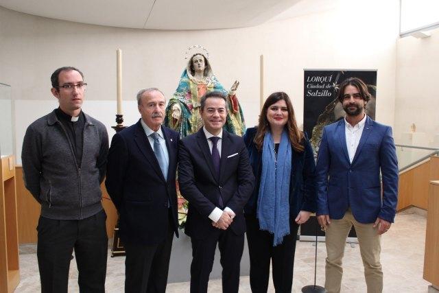 La Dolorosa de Salzillo de Lorquí se expone en el Museo de la capital con otras obras del escultor murciano - 1, Foto 1