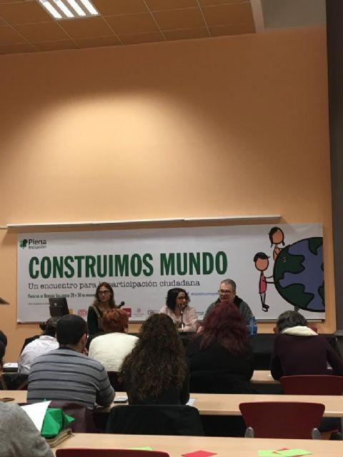 La pleguera Teresa Cifuentes participó en el encuentro Construimos Mundo en Valladolid - 1, Foto 1
