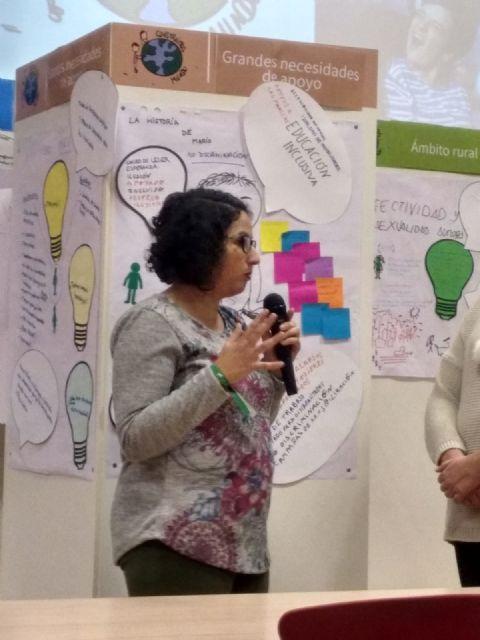 La pleguera Teresa Cifuentes participó en el encuentro Construimos Mundo en Valladolid - 4, Foto 4