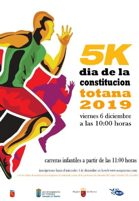 "Tomorrow ends the registration period for the Popular Race ""5K Constitution Day"""