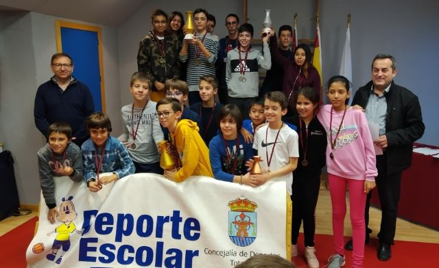 The Local Phase of School Sports Chess was attended by 48 students