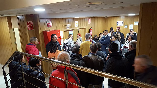 Ganar Totana pide que se mantenga la oficina del Registro Civil de Totana, Foto 1