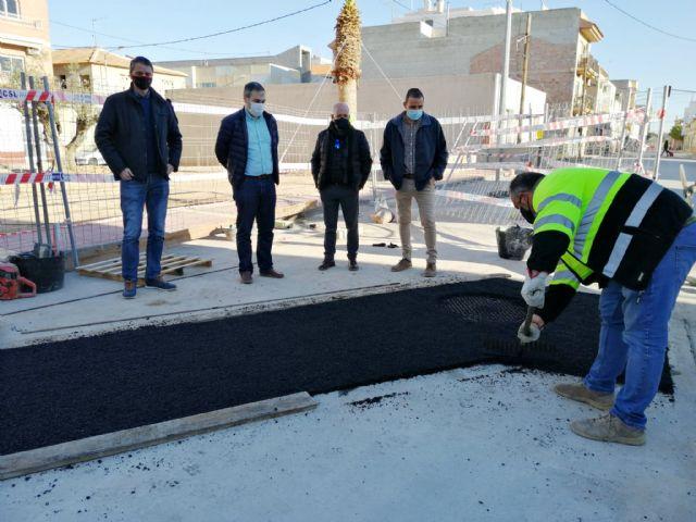 La Comunidad instala un nuevo colector de pluviales en el casco urbano de Librilla para evitar embalses de agua - 1, Foto 1