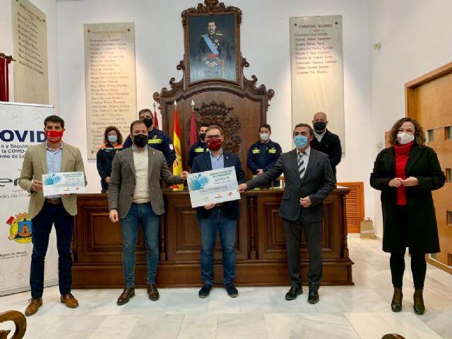El Servicio Municipal de Emergencias y Protecci�n Civil de Lorca formar� como rastreadores a 264 voluntarios de Protecci�n Civil de distintos municipios de la Regi�n, Foto 1