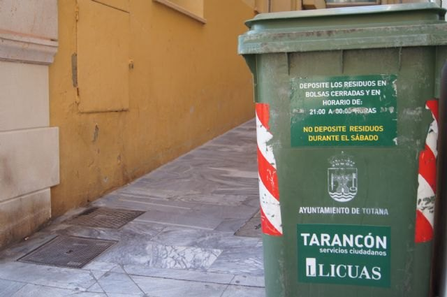 Waste collection on the next holidays in December