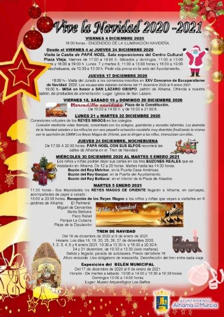 Vive la Navidad 2020-2021 en Alhama de Murcia - 1, Foto 1
