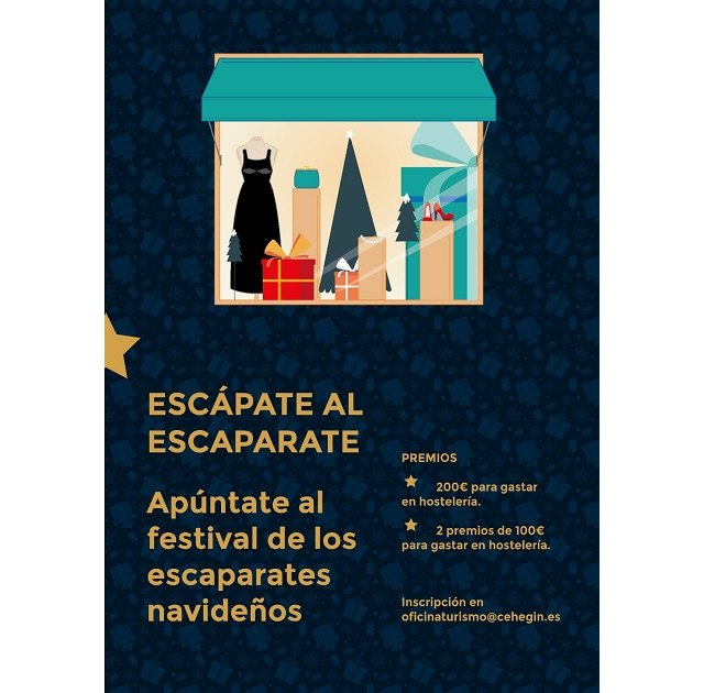 El Ayuntamiento de Cehegín lanza un concurso de escaparates navideños para el comercio local - 1, Foto 1