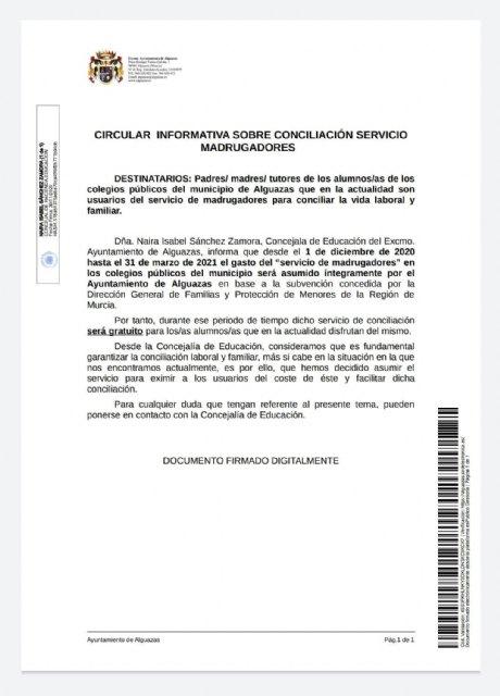 Servicio de conciliación en los CEIP Monte Anaor y Virgen del Carmen gratuito - 1, Foto 1