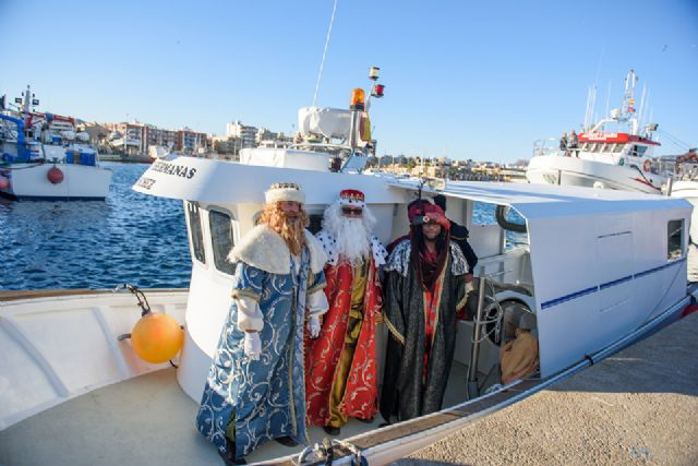Los Reyes Magos llegan este jueves en barco a Puerto de Mazarrón, Foto 2
